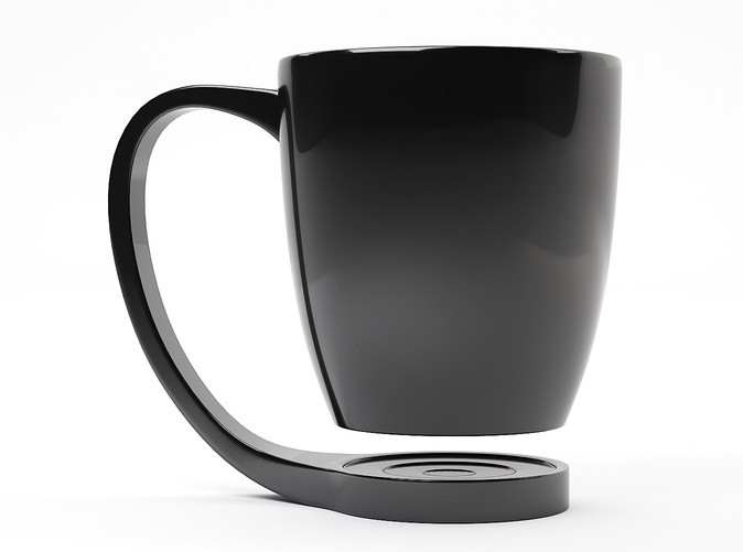 Finest Shapes The Floating Coffee Cup
